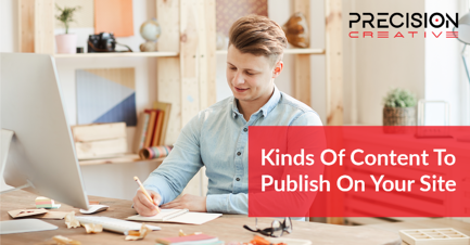 Don't fall behind! Learn about all the different kinds of content you can publish to your site!