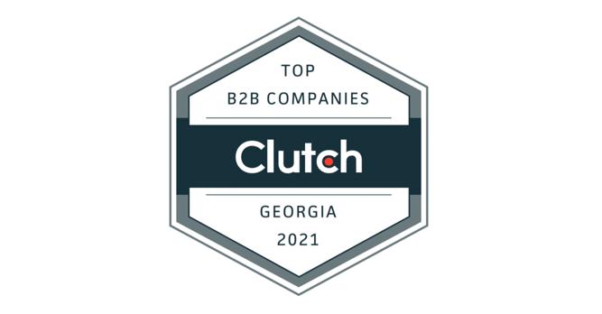 Ranked Top B2B Company In Atlanta By Clutch