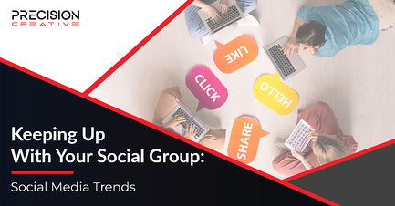 Keep up to date with the latest social media trends to market your brand.