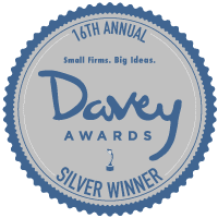 Precision Creative Was Named A Silver Winner From The Davey Awards
