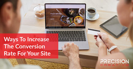 Learn tactics to help improve your site's conversion rate!