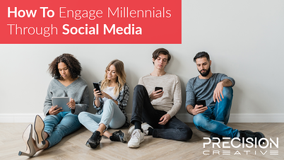 Millennials on cell phones