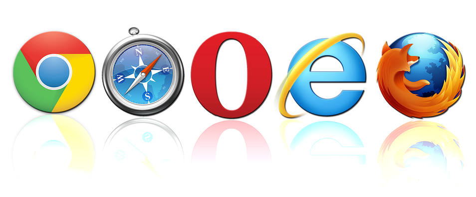 Most Common Website Browsers